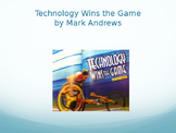 Technology Wins the Game Vocabulary, Journeys Lesson 11