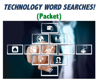 Technology Word Searches (and bonus material)
