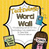 Technology Word Wall
