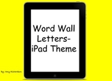 Technology Word Wall Letters