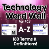 Technology Word Wall - Windows