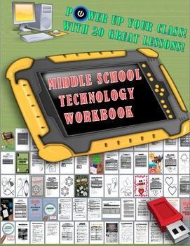 Technology Workbook For Middle School
