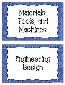 Technology and Engineering Design Process Poster Bundle