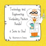 Technology and Engineering Vocabulary Packet Bundle