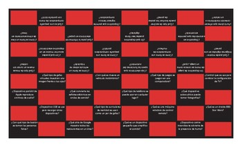Technology and Gadgets Spanish Checker Board Game
