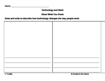 Technology and Work: Show What You Know