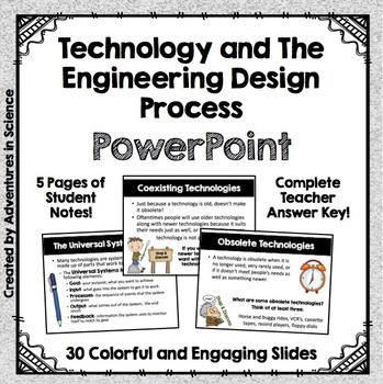 Technology and the Engineering Design Process PowerPoint with Student Notes