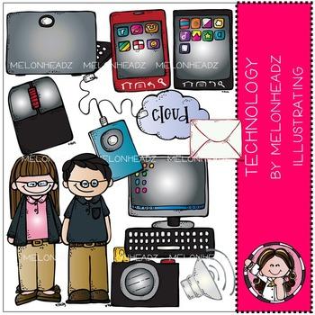 Technology clip art - by Melonheadz