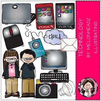 Technology clip art - COMBO PACK- by Melonheadz