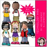 Technology clip art - Mini - Melonheadz Clipart