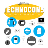 Technology clip art / icons