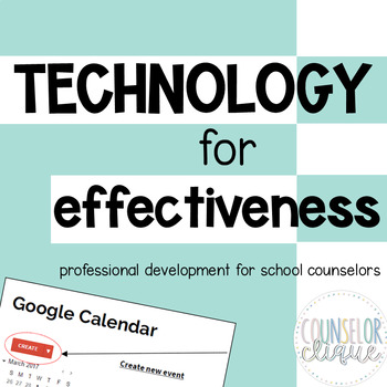 Technology for Effectiveness