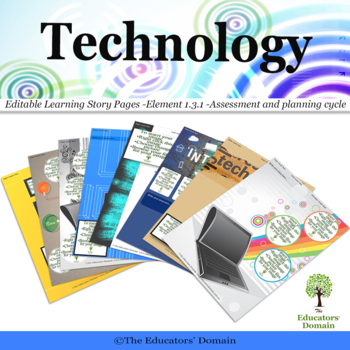 EYLF Technology in Childcare Editable Pack