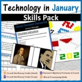Technology in January Pack (The New Year 2019, Martin Luther King Jr)