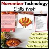 Technology in November Pack (Thanksgiving)