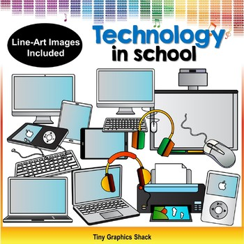 Technology in School Clip Art
