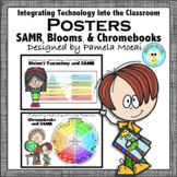 Technology in the Classroom Posters: SAMR, Blooms and Chromebooks
