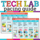 Technology or Computer Lab Pacing Guide