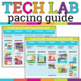 Technology or Computer Lab Pacing Guide FREEBIE