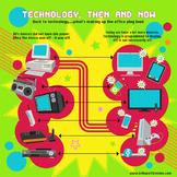 Technology then and Now Infographic