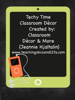 Techy Time Decor
