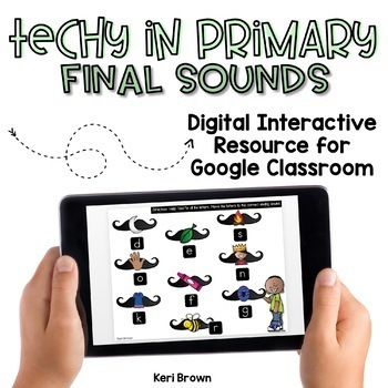 Kindergarten Google Classroom - Final Sound Sort