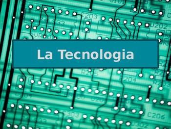 Tecnologia (Technology in Italian) power point