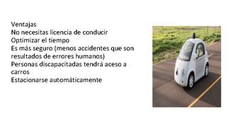 Tecnología (carros autónomos)