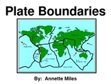 Tectonic Plate Boundaries Powerpoint