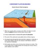 Tectonic Plate Boundaries - Activity and Worksheet