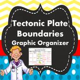 Tectonic Plate Boundaries Graphic Organizer