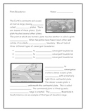 Tectonic Plate Boundaries Note Taking Guide