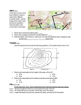 Tectonic Plate Boundaries Warmup