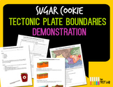 Tectonic Plate Boundary Demonstration Sugar Cookie Lab Home Science