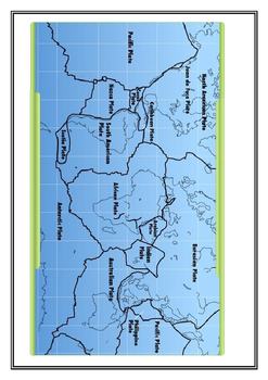 Tectonic Plate Mapping Activity