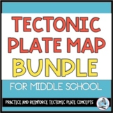 Tectonic Plate Maps BUNDLE