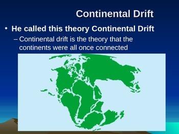 Tectonic Plates - Continental Drift