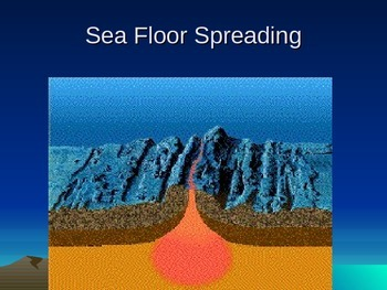 Tectonic Plates - Sea Floor Spreading