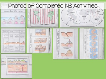 Tectonic Plates Interactive Notebook Unit