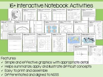 Plate Tectonics Interactive Notebook Unit