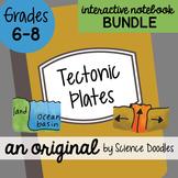 Tectonic Plates Interactive Notebook Doodle BUNDLE - Scien