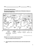Plate Tectonics Worksheet with Questions