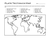 Tectonic Plates Mapping