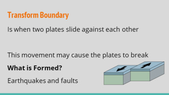 Tectonic Plates Oreo Activity, PowerPoint and Notes