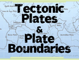 Tectonic Plates & Plate Boundaries PowerPoint (Convergent, Divergent, Transform)