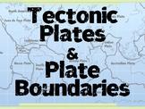 Tectonic Plates & Plate Boundaries PowerPoint (Convergent, Divergent, Transform)