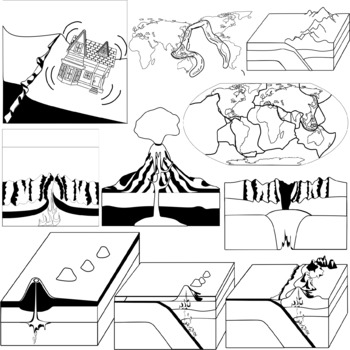 Tectonic Plates - Volcanoes and Earthquakes