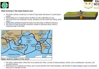 Tectonic Plates Webquest