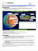 Tectonic Plates Web Quest (key included)