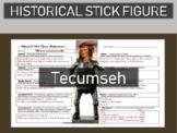 Tecumseh Historical Stick Figure (Mini-biography)